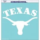 "Texas Longhorns 18"" x 18"" Die Cut Decal"