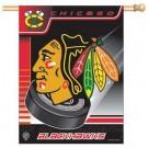 """Chicago Blackhawks 27"""" x 37"""" Vertical Flag / Banner"""
