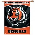 "Cincinnati Bengals 27"" x 37"" Vertical Flag / Banner from WinCraft"