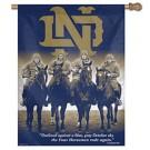 "Notre Dame Fighting Irish Four Horsemen 27"" x 37"" Vertical Flag / Banner"