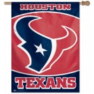 """Houston Texans 27"""" x 37"""" Vertical Flag / Banner from WinCraft"""