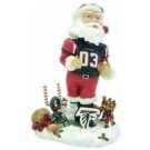 Atlanta Falcons Santa Claus Bobble Head Doll from Forever Collectibles