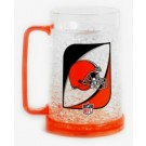 Cleveland Browns Plastic Crystal Freezer Mugs - Set of 4