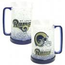 St. Louis Rams Plastic Crystal Freezer Mugs - Set of 4