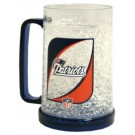 New England Patriots Plastic Crystal Freezer Mugs - Set of 4