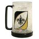 New Orleans Saints Plastic Crystal Freezer Mugs - Set of 4