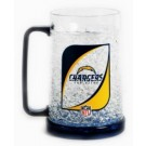 San Diego Chargers Plastic Crystal Freezer Mugs - Set of 4