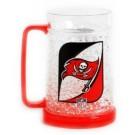Tampa Bay Buccaneers Plastic Crystal Freezer Mugs - Set of 4