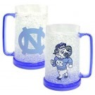 North Carolina Tar Heels Plastic Crystal Freezer Mugs - Set of 4