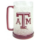 Texas A & M Aggies Plastic Crystal Freezer Mugs - Set of 4