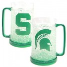 Michigan State Spartans Plastic Crystal Freezer Mugs - Set of 4