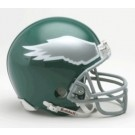 Philadelphia Eagles (1974-1995) Unautographed Old Logo Riddell Authentic Mini Football Helmet