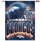 "Denver Broncos 27"" x 37"" Vertical Flag / Banner from WinCraft"