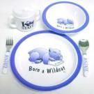 Kansas State Wildcats 5 Piece Child's Dinner Set