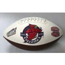 Iowa State Cyclones Embroidered Full Size Football from Fotoball