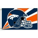 Denver Broncos 3' x 5' Helmet Design Flag from Fremont Die