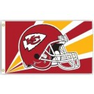 Kansas City Chiefs 3' x 5' Helmet Design Flag from Fremont Die