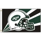 New York Jets 3' x 5' Helmet Design Flag from Fremont Die