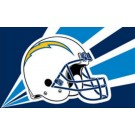San Diego Chargers 3' x 5' Helmet Design Flag from Fremont Die