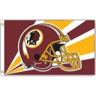 Washington Redskins 3' x 5' Helmet Design Flag from Fremont Die