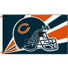 Chicago Bears 3' x 5' Helmet Design Flag from Fremont Die