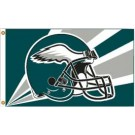 Philadelphia Eagles 3' x 5' Helmet Design Flag from Fremont Die