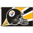 Pittsburgh Steelers 3' x 5' Helmet Design Flag from Fremont Die