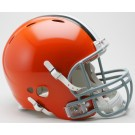 Cleveland Browns NFL Revolution Authentic Pro Line Full Size Helmet from Riddell