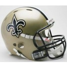 New Orleans Saints NFL Revolution Authentic Pro Line Full Size Helmet from Riddell by