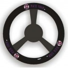 Boston Red Sox Leather Steering Wheel Cover