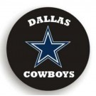 Dallas Cowboys NFL Licensed Standard Black Tire Cover
