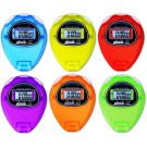 Ultrak 320 Economy Timer Sport Stopwatch (Pack of 6 Rainbow Colors)
