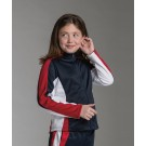 Girls' Energy Warm-Up Jacket - Youth Series from Charles River Apparel by