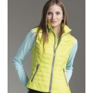 "Women's Lithium Quilted ""Pack N Go"" Vest by Charles River Apparel"