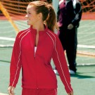 "The ""Olympian Collection"" The Olympian Warm-up Jacket for Women from Charles River... by"