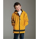 Children's New Englander Waterproof Rain Jacket by Charles River Apparel