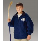 "The ""Kids' Collection"" Youth Voyager Fleece Jacket from Charles River Apparel"