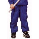 """The """"Kids' Collection"""" Youth Rigger Lined Nylon Warm-Up Pants from Charles River Apparel"""
