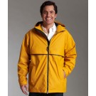 Men's New Englander Waterproof Rain Jacket by Charles River Apparel