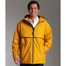Men's New Englander Waterproof Rain Jacket by Charles River Apparel
