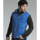 Men's Certified RECYCLED Radius Quilted Vest from Charles River Apparel by