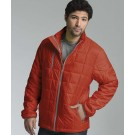 """Men's Lithium Quilted """"Pack N Go"""" Jacket by Charles River Apparel"""