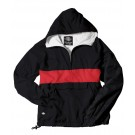 "The ""Classic Collection"" Classic CRS Striped Nylon Pullover Jacket from Charles River Apparel"