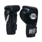 Cleto Reyes 18 oz. Boxing Gloves with Hook and Loop Closure (White) - 1 Pair by