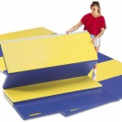 "5' x 10' x 2"" Bonded Foam Mat with 4 S Fasteners"