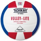 """Volley-Lite""® Volleyball from Tachikara  (Red / White / Blue)"
