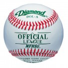 Diamond Official League NFHS Baseballs - 1 Dozen