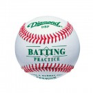 Diamond Batting Practice Baseballs - 1 Dozen