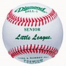 Diamond Senior Little League Competition Baseballs - 1 Dozen