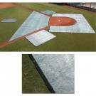 Two Piece Batting Cage Collar Turf Blanket